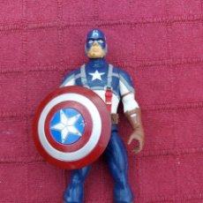 Figuras y Muñecos Marvel: FIGURA DE ACCIÓN CAPITÁN AMÉRICA HASBRO MARVEL 2011 SUPER HEROE DE LOS VENGADORES HEROES DE COMICS. Lote 219213033