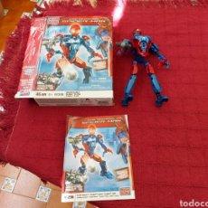 Figuras y Muñecos Marvel: MEGABLOKS FIGURA DE ACCIÓN SPIDERMAN CON SU CAJA Y MANUAL DE INSTRUCCIONES SUPER HEROE MARVEL COMIC. Lote 219286971