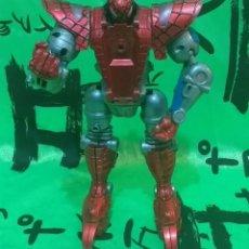 Figuras y Muñecos Marvel: FIGURA ARTICULADA/CONVERTIBLE MARVEL - * SPIDER MAN ROBOT . DE TOY BIZ * - LEER ANUNCIO.. Lote 220423246