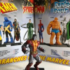 Figuras y Muñecos Marvel: FIGURA COLOSUS DE MARVEL EN PLOMO CON FASCÍCULO. Lote 222318950