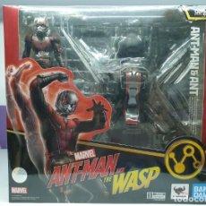 Figuras y Muñecos Marvel: ANT-MAN & HORMIGA ALADA SH FIGUARTS VENGADORES MARVEL. Lote 222541890