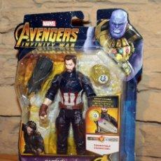 Figuras y Muñecos Marvel: AVENGERS INFINITY WAR - FIGURA CAPITAN AMERICA - MARVEL - NUEVO - BLISTER SIN ABRIR - VENGADORES. Lote 222584577