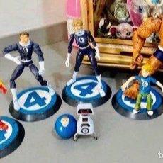 Figuras y Muñecos Marvel: LOTE LOS 4 FANTASTICOS MARVEL LEGENDS. Lote 222594216