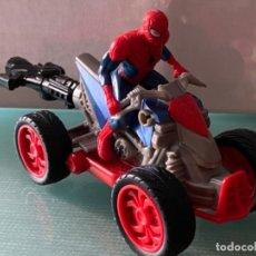 Figuras y Muñecos Marvel: FIGURA SPIDERMAN QUAD PROPULSADO HASBRO MARVEL. Lote 222630517