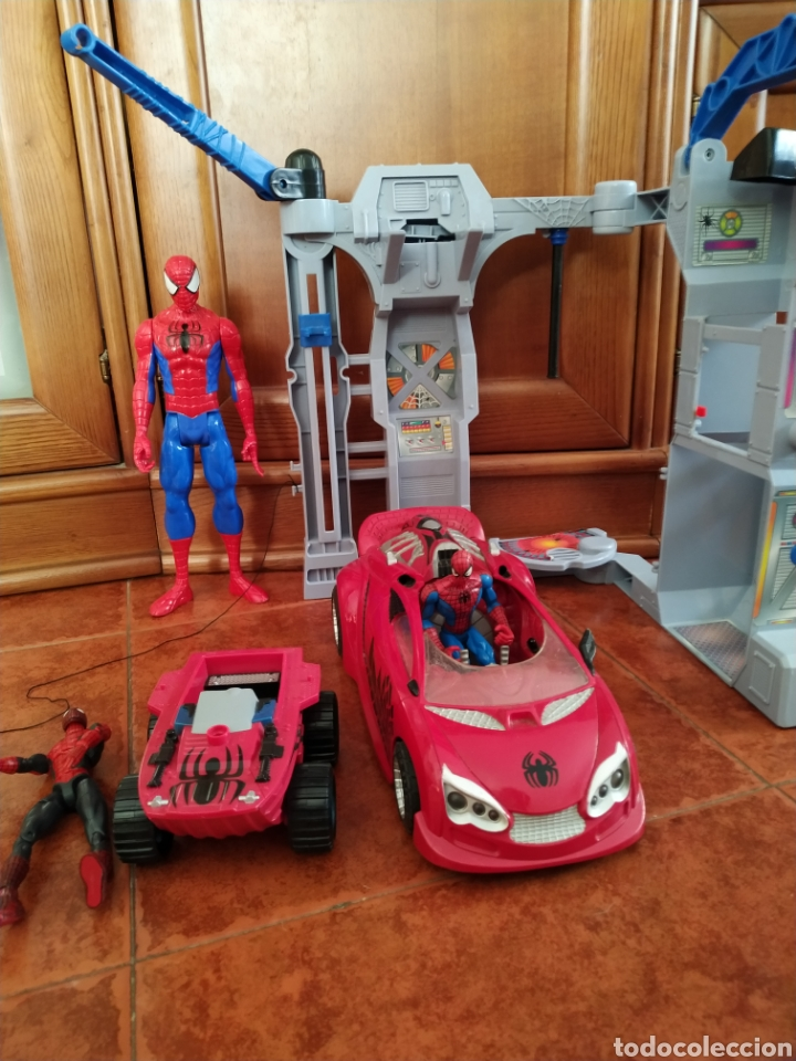 LOTE DE SPIDERMAN (Juguetes - Figuras de Acción - Marvel)