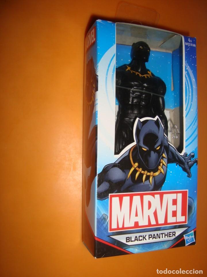 BLACK PANTHER DE MARVEL DE HASBRO, NUEVO (Juguetes - Figuras de Acción - Marvel)