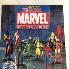 Figuras y Muñecos Marvel: LOTE 7 FIGURAS PLOMO MARVEL. Lote 224040302