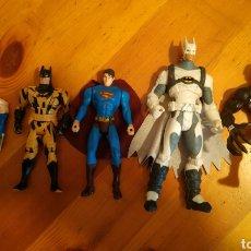 Figuras e Bonecos Marvel: LOTE 5 FIGURAS MUÑECOS MARVEL SUPERMAN 2 BATMANS VENOM ,WOLVERINE LOBEZNO. Lote 224861017