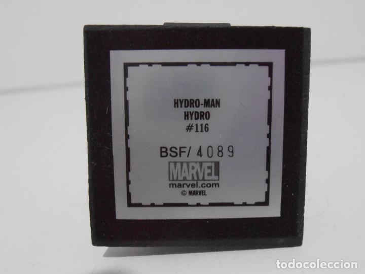 Figuras y Muñecos Marvel: FIGURA HYDRO MAN, PLOMO PINTADO, FIGURAS MARVEL DE COLECCION, ALTAYA, NUEVO EN CAJA - Foto 3 - 225726680