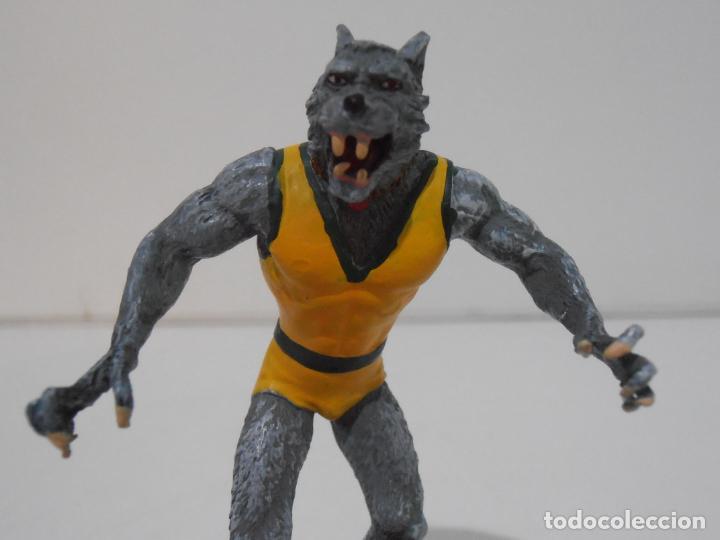 Figuras y Muñecos Marvel: FIGURA MAN WOLF, PLOMO PINTADO, FIGURAS MARVEL DE COLECCION, ALTAYA, NUEVO EN CAJA - Foto 2 - 225750703