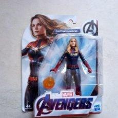 Figuras y Muñecos Marvel: CAPTAIN MARVEL AVENGERS HASBRO EN CAJA SIN ABRIR. Lote 228726425