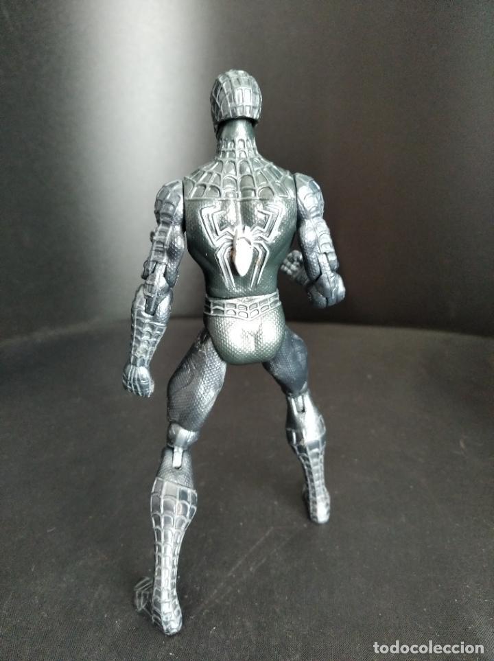 Figuras y Muñecos Marvel: SPIDER-MAN TRAJE NEGRO BATALLA, DEL FILM SPIDERMAN 3 - 2006 HASBRO- - Foto 2 - 229500375