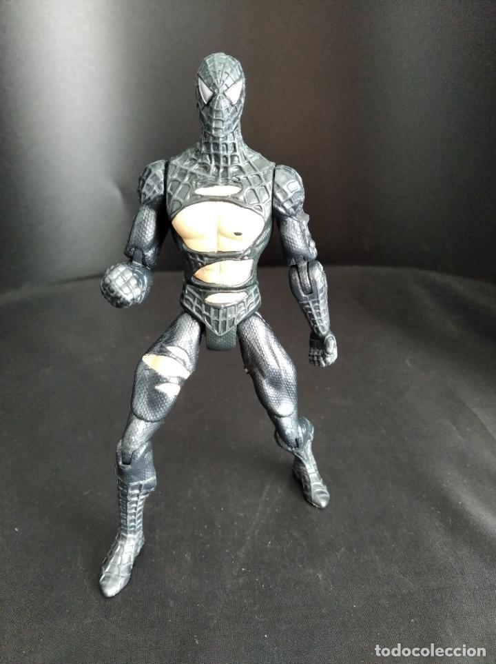 SPIDER-MAN TRAJE NEGRO BATALLA, DEL FILM SPIDERMAN 3 - 2006 HASBRO- (Juguetes - Figuras de Acción - Marvel)
