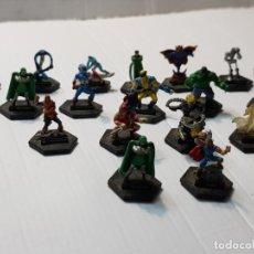 Figuras y Muñecos Marvel: COLECCIÓN MINI FIGURAS MARVEL EN GOMA. Lote 230556710