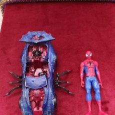 Figuras y Muñecos Marvel: COCHE DE SPIDERMAN Y FIGURA DE ACCIÓN SPIDERMAN/SUPER HEROE DE LOS VENGADORES/HEROE DE COMICS/. Lote 231766700