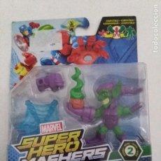 Figuras y Muñecos Marvel: MARVEL FIGURA DUENDE VERDE SUPER HERO MASHERS MICRO SERIE 2. .. Lote 232204925