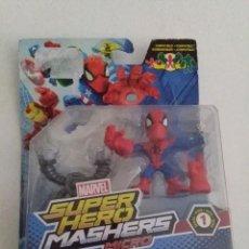 Figuras y Muñecos Marvel: MARVEL FIGURA SPIDERMAN SPIDER-MAN SUPER HERO MASHERS MICRO SERIE 1.. Lote 232207760