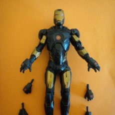 "Figuras y Muñecos Marvel: FIGURA MARVEL LEGENDS CIVIL WAR GOLD-BLACK IRON MAN ARMOR 6"" .. Lote 233105360"