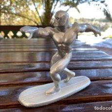 Figuras y Muñecos Marvel: FIGURA SUPER HEROE MARVEL PVC YOLANDA AQUAMAN ICEMAN PLATEADO SURF PERFECTO ESTADO. Lote 235098115