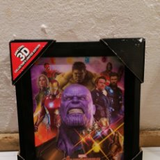 Figuras y Muñecos Marvel: CUADRO AMAZING 3D LIMITED EDITION MARVEL AVENGERS INFINITY WAR. Lote 235662785