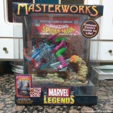 Figuras y Muñecos Marvel: MASTERWORKS SPIDERMAN VS DUENDE VERDE. Lote 236124535
