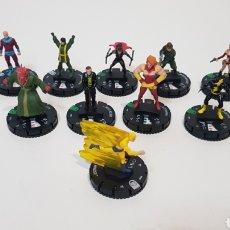 Figuras y Muñecos Marvel: LOTE 12 HEROCLIX - AGENTES DE S.H.I.E.L.D - 1 PLATA, 9 VERDES Y 2 BLANCAS. Lote 236326835