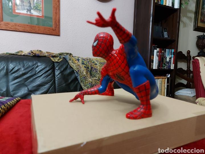 Figuras y Muñecos Marvel: FIGURA DE ACCIÓN SPIDERMAN (BOTE DE COLONIA O CHAMPÚ)/SUPER HEROE MARVEL - Foto 4 - 237021855