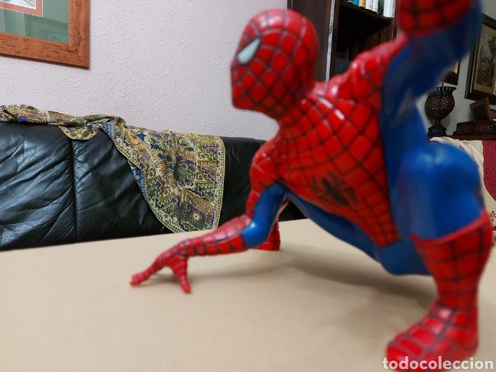 Figuras y Muñecos Marvel: FIGURA DE ACCIÓN SPIDERMAN (BOTE DE COLONIA O CHAMPÚ)/SUPER HEROE MARVEL - Foto 5 - 237021855