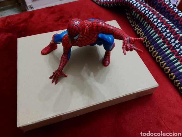 Figuras y Muñecos Marvel: FIGURA DE ACCIÓN SPIDERMAN (BOTE DE COLONIA O CHAMPÚ)/SUPER HEROE MARVEL - Foto 6 - 237021855