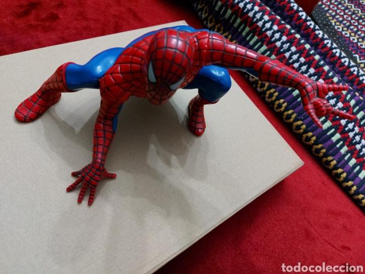 Figuras y Muñecos Marvel: FIGURA DE ACCIÓN SPIDERMAN (BOTE DE COLONIA O CHAMPÚ)/SUPER HEROE MARVEL - Foto 7 - 237021855