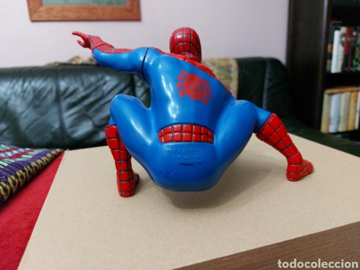 Figuras y Muñecos Marvel: FIGURA DE ACCIÓN SPIDERMAN (BOTE DE COLONIA O CHAMPÚ)/SUPER HEROE MARVEL - Foto 8 - 237021855