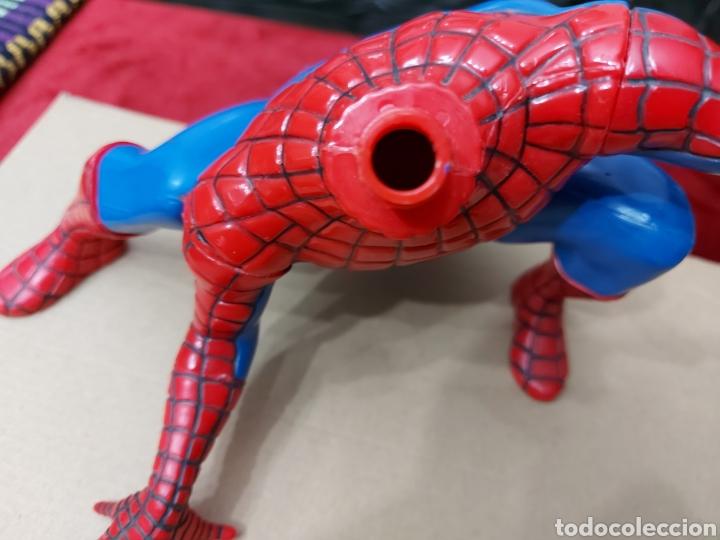 Figuras y Muñecos Marvel: FIGURA DE ACCIÓN SPIDERMAN (BOTE DE COLONIA O CHAMPÚ)/SUPER HEROE MARVEL - Foto 14 - 237021855