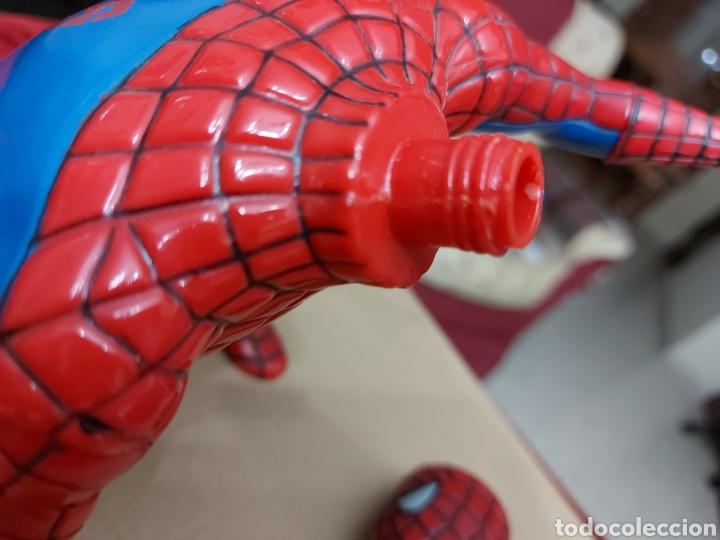 Figuras y Muñecos Marvel: FIGURA DE ACCIÓN SPIDERMAN (BOTE DE COLONIA O CHAMPÚ)/SUPER HEROE MARVEL - Foto 15 - 237021855