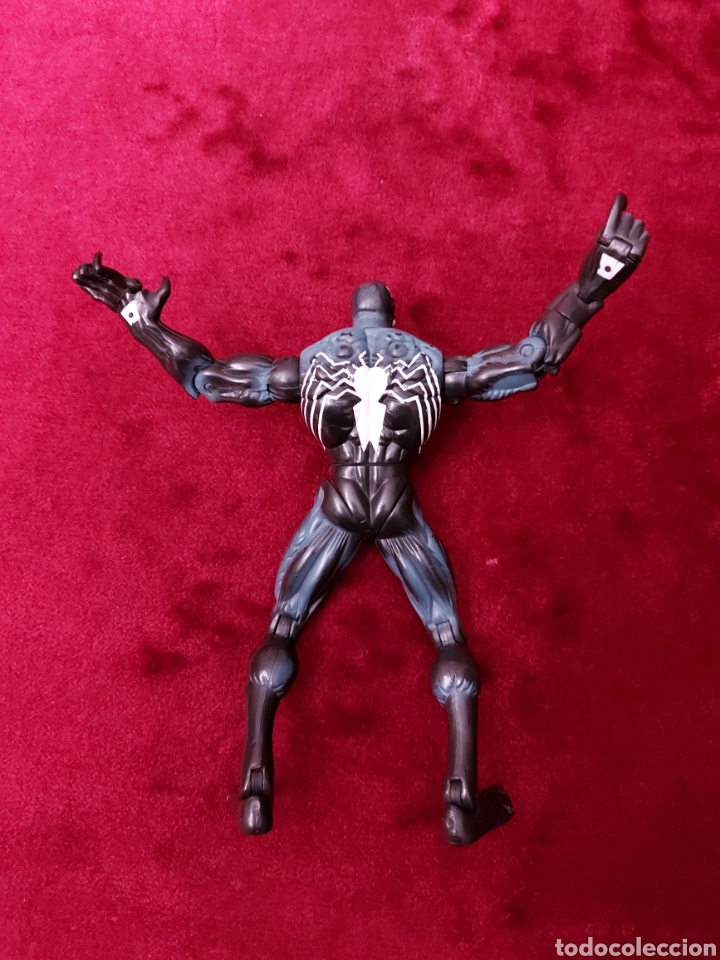 Figuras y Muñecos Marvel: FIGURA DE ACCIÓN VENOM ARTICULADA TOY BIZ 2005 MARVEL/MONSTRUO SIMBIONTE/SPIDERMAN - Foto 9 - 237556430