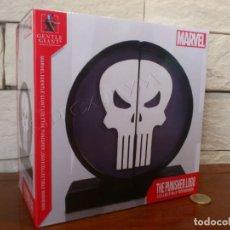 Figuras y Muñecos Marvel: MARVEL - THE PUNISHER - SIMBOLO - SUJETALIBROS - BOOKENDS - EDICION LIMITADA A 3000 - NUEVO. Lote 237704950