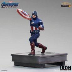 Figuras y Muñecos Marvel: ESTATUA CAPTAIN AMERICA BDS ART SCALE 1/10 - AVENGERS: ENDGAME - IRON STUDIOS. Lote 237836465
