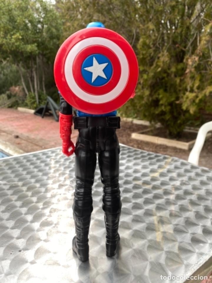Figuras y Muñecos Marvel: CAPITÁN AMERICA con escudo 30 cm los vengadores HASBRO 2014 / MARVEL - Foto 5 - 238738615