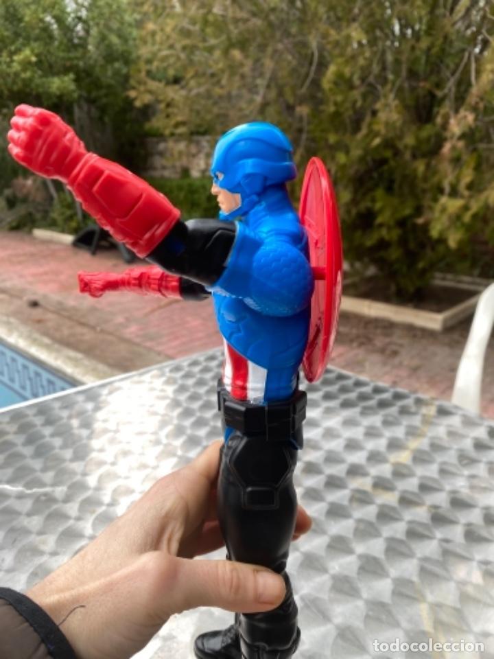 Figuras y Muñecos Marvel: CAPITÁN AMERICA con escudo 30 cm los vengadores HASBRO 2014 / MARVEL - Foto 6 - 238738615
