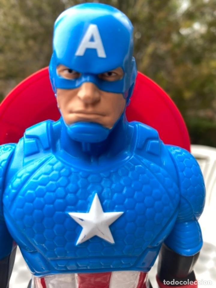 Figuras y Muñecos Marvel: CAPITÁN AMERICA con escudo 30 cm los vengadores HASBRO 2014 / MARVEL - Foto 7 - 238738615