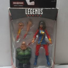 Figuras y Muñecos Marvel: FIGURA ARTICULADA MARVEL LEGENDS-MS.MARVEL-EN BLISTER ORIGINAL. Lote 239754730