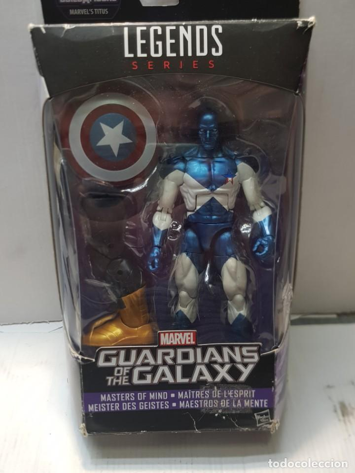 FIGURA ARTICULADA MARVEL LEGENDS-VANCE ASTRO-SERIE GUARDIANS OF THE GALAXIA EN BLISTER ORIGINAL (Juguetes - Figuras de Acción - Marvel)