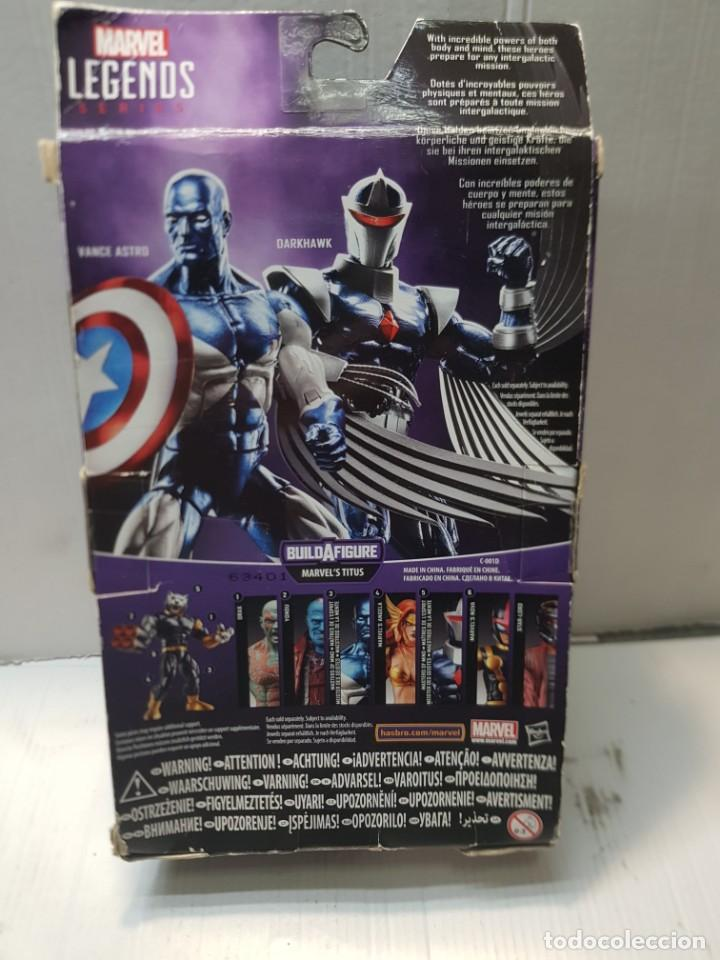 Figuras y Muñecos Marvel: Figura articulada Marvel Legends-VANCE ASTRO-serie Guardians OF the Galaxia en blister original - Foto 6 - 239756935