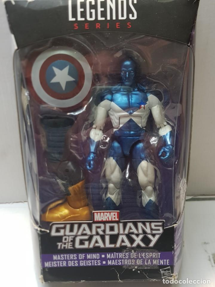 Figuras y Muñecos Marvel: Figura articulada Marvel Legends-VANCE ASTRO-serie Guardians OF the Galaxia en blister original - Foto 7 - 239756935