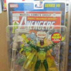 Figuras y Muñecos Marvel: MARVEL LEGENDS - LA VISION - PHASING - INTANGIBLE - VENGADORES - TOY BIZ - IMPECABLE / NUEVA. Lote 241678925