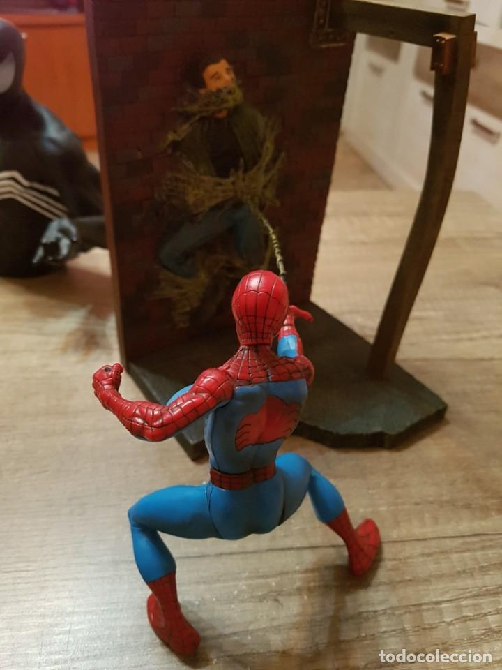 Figuras y Muñecos Marvel: FIGURA MARVEL SPIDERMAN EN ACCION.2002 - Foto 4 - 241940560