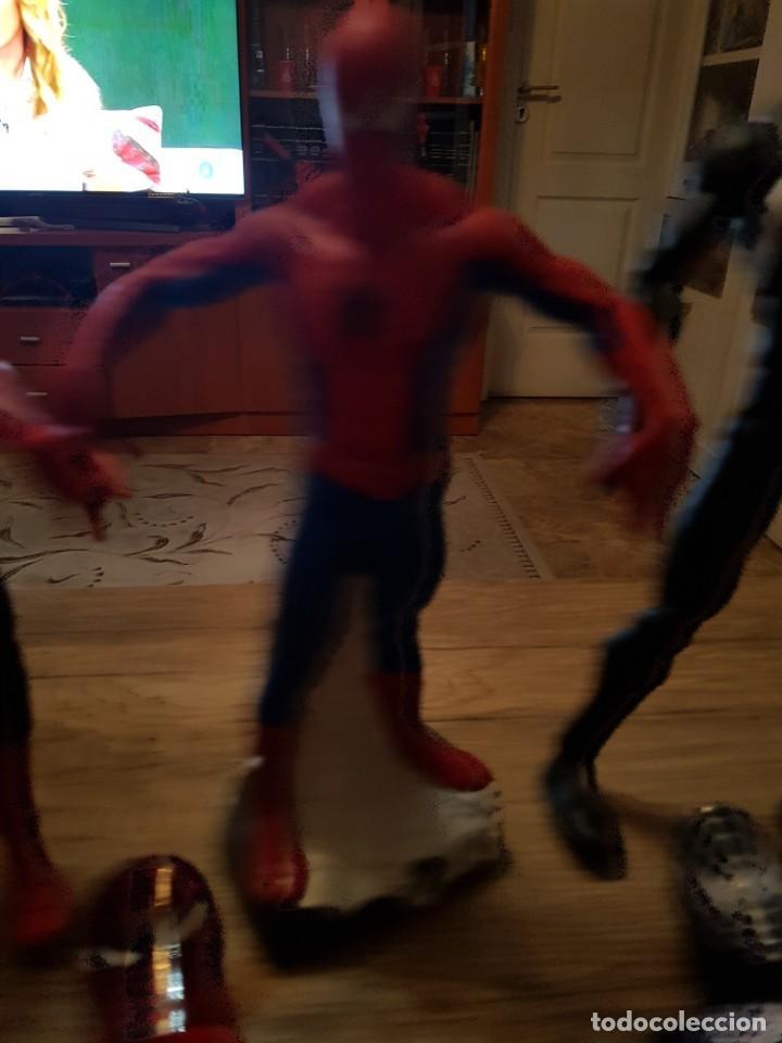 Figuras y Muñecos Marvel: GRAN LOTE DE 6 FIGURAS DE SPIDERMAN DE GRAN TAMAÑO. - Foto 4 - 241942120