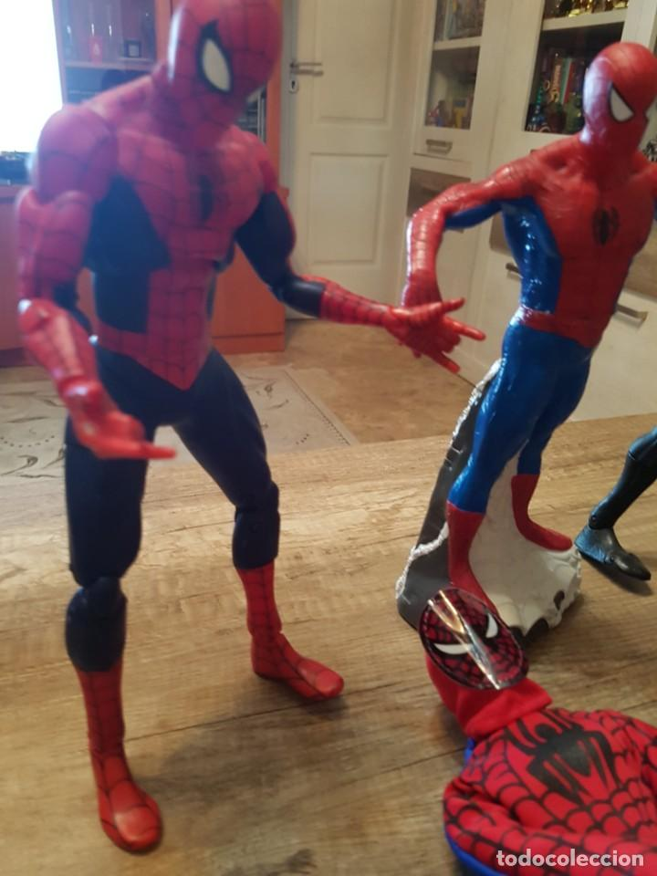 Figuras y Muñecos Marvel: GRAN LOTE DE 6 FIGURAS DE SPIDERMAN DE GRAN TAMAÑO. - Foto 5 - 241942120