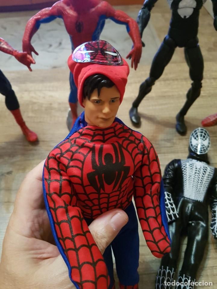 Figuras y Muñecos Marvel: GRAN LOTE DE 6 FIGURAS DE SPIDERMAN DE GRAN TAMAÑO. - Foto 9 - 241942120