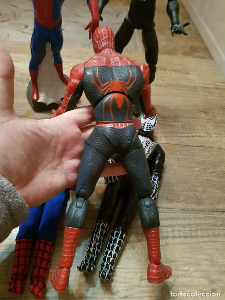 Figuras y Muñecos Marvel: GRAN LOTE DE 6 FIGURAS DE SPIDERMAN DE GRAN TAMAÑO. - Foto 10 - 241942120