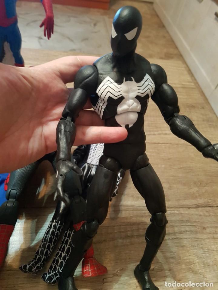 Figuras y Muñecos Marvel: GRAN LOTE DE 6 FIGURAS DE SPIDERMAN DE GRAN TAMAÑO. - Foto 11 - 241942120